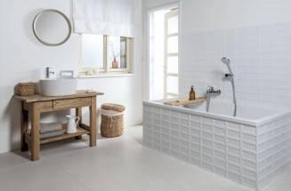 A fehér színnel nem hibázhat a fürdőszobában