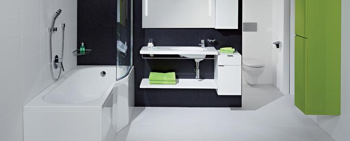 A tigo fürdőszoba panelházi megoldásainak mintái